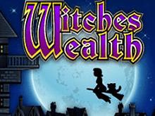 Онлайн автомат Богатство Ведьмы с денежным бонусом